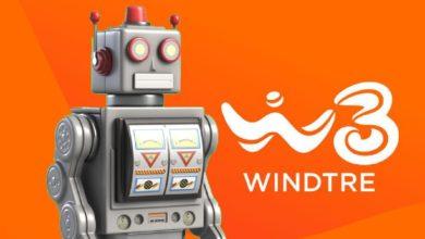 """Photo of WIND TRE: """"Credo negli esseri umani""""… ma ti faccio parlare con un robot"""