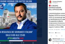 Photo of Il Comune di Bugliano non esiste, ma su Instagram Salvini saluta i suoi abitanti