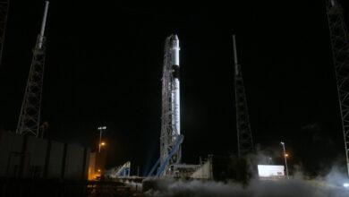 Photo of Dragon sulla rampa di lancio. Il ritorno al futuro di SpaceX