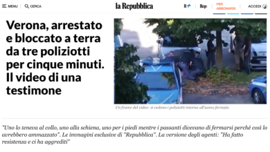 Photo of Per arrestare serve gentilezza. Parola di videoamatori