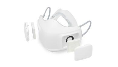Photo of Sensori di respirazione e aria purificata: ecco la mascherina hi-tech