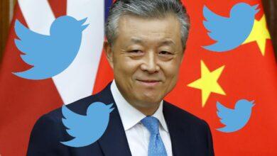 """Photo of L'ambasciatore cinese e il """"mi piace"""" ad un tweet con  video porno"""