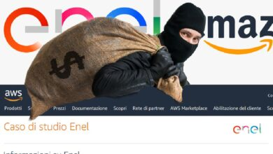 Photo of Dati ENEL in mano agli hacker: qual è il ruolo di Amazon?